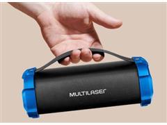 Caixa de Som Bluetooth Multilasr Bazooka 50W - 5