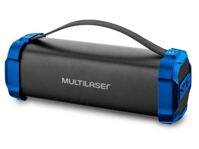 Caixa de Som Bluetooth Multilasr Bazooka 50W
