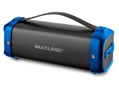 Caixa de Som Bluetooth Multilasr Bazooka 70W