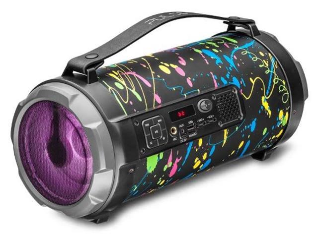 Caixa de Som Bluetooth Pulse Bazooka Paint Blast II 120W