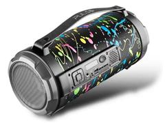 Caixa de Som Bluetooth Pulse Bazooka Paint Blast II 120W - 3