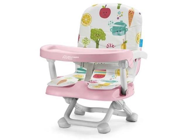 Cadeira de Alimentação Portátil Multikids Baby Frutinhas