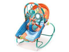 Cadeira de Balanço para Bebês Multikids Baby Elefante - 1