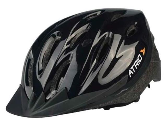 Capacete para Ciclismo Atrio Alças Ajustáveis Preto Tam G