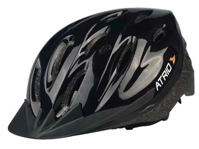Capacete para Ciclismo Atrio Alças Ajustáveis Preto Tam M