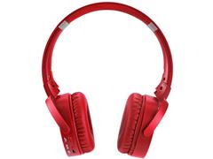 Headphone Bluetooth Multilaser Premium Sd/Aux/Fm Vermelho - 1