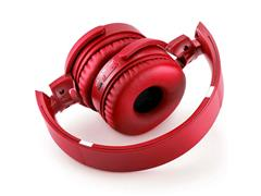Headphone Bluetooth Multilaser Premium Sd/Aux/Fm Vermelho - 3