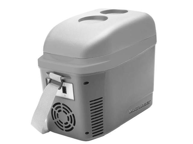 Mini Geladeira Portátil Cooler Automotiva Multilaser 7 Litros 12V