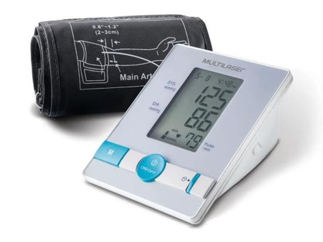 Monitor de Pressão Arterial Digital Multilaser de Braço
