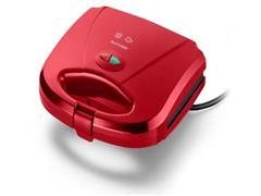 Sanduicheira e Minigrill Multilaser Gourmet Vermelha 750W - 1