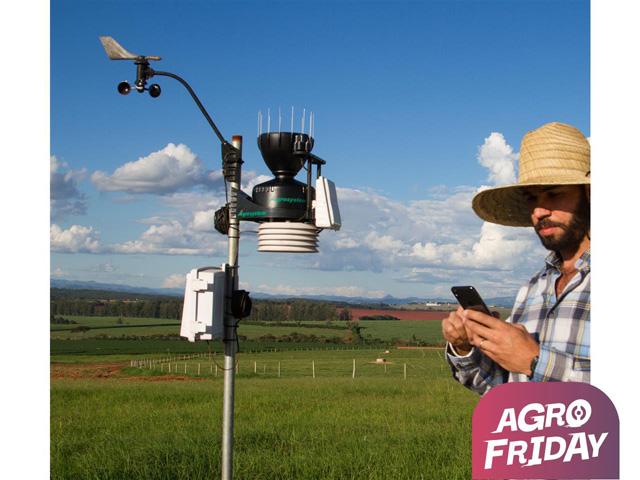 Estação Meteorológica PRO Agrosystem + Radiação Solar | Davis – Wi-Fi