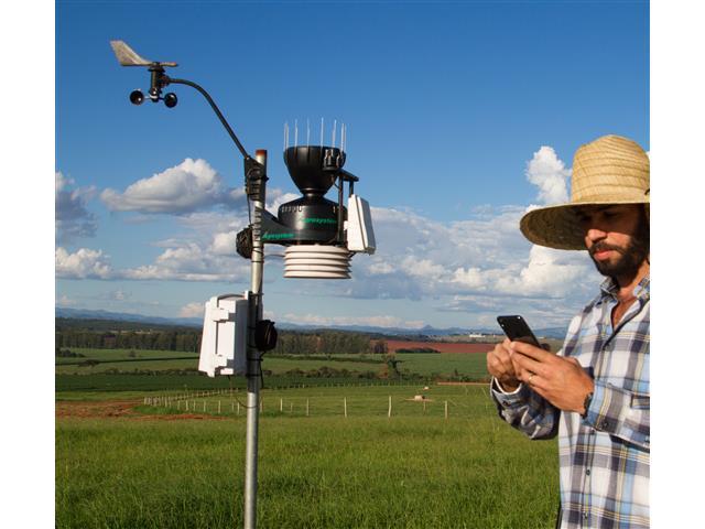 Estação Meteorológica PRO Agrosystem + Rad. Solar e UV | Davis - Wi-Fi