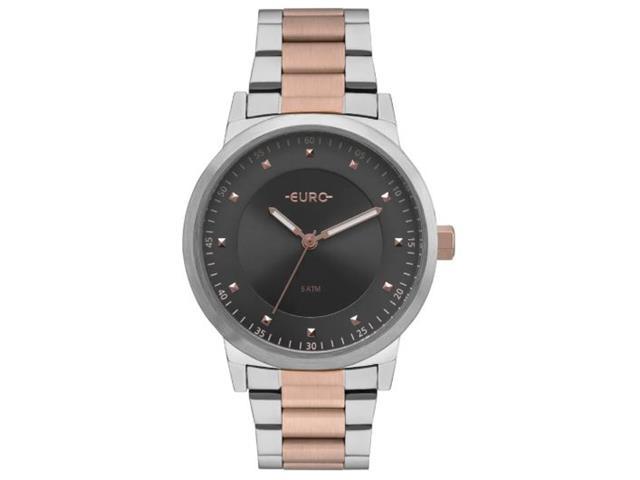 Relógio Euro Feminino Prata e Rosé EU2036YNT/5C