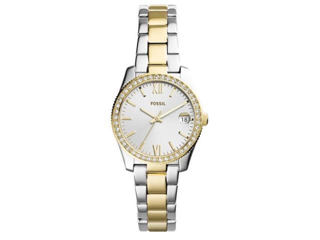 Relógio Fossil Feminino Prateado e Dourado ES4319/1KN