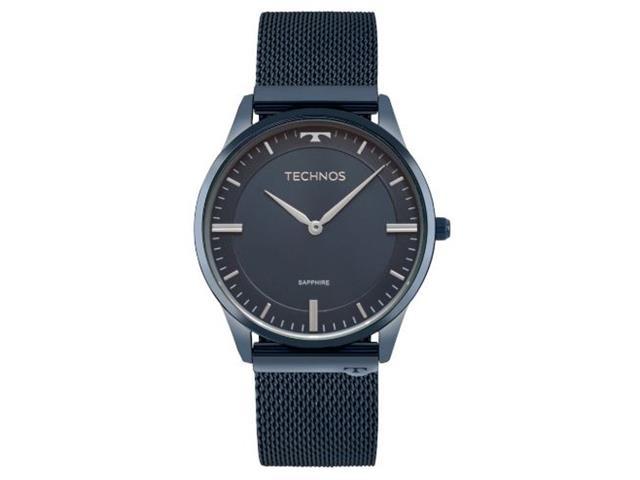 Relógio Technos Masculino Classic Slim Azul 9T22AN/4A