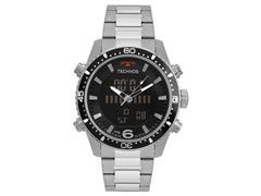 Relógio Technos Masculino TS Digiana Prateado BJK203AAC/1P