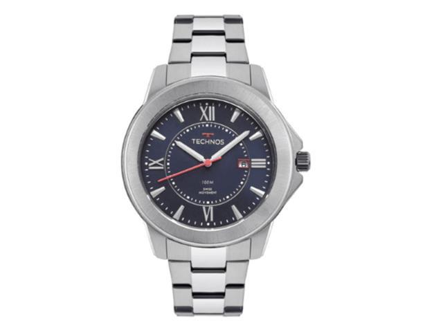 Relógio Technos Masculino Essence Prateado F06111AB/1P