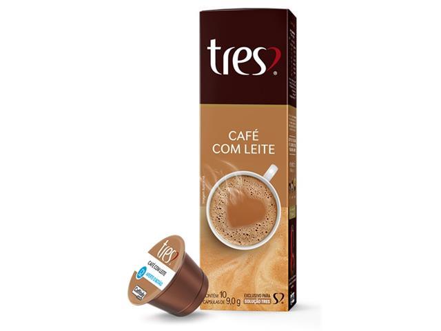 Cápsulas Três Corações Café com Leite
