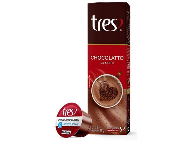 Cápsulas Três Corações Chocolatto Quente