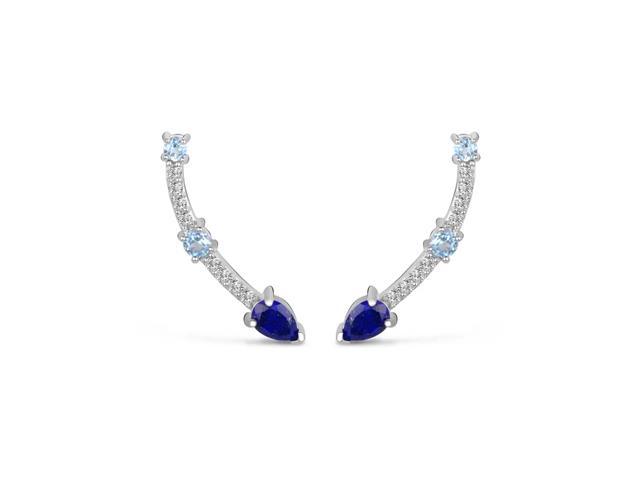 Brinco Vivara Life Topázios e Lápis Lazuli