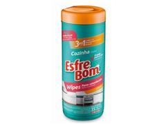 Pano Umedecido para Cozinha Bettanin EsfreBom Tubo com 35 Panos