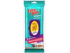 Pano Umedecido Multissuperfícies Bettanin EsfreBom Wipes 50 Panos - 0