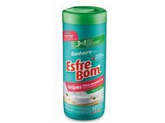 Pano Umedecido para Banheiro Bettanin EsfreBom Tubo com 35 Panos