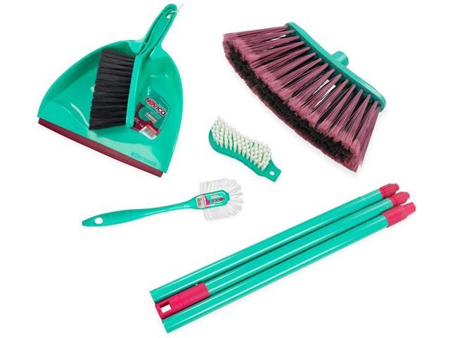 Conjunto de Limpeza Mop Bettanin Noviça 5 Peças