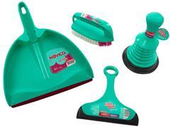 Conjunto de Limpeza Mop Bettanin Noviça 4 Peças