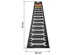 Jogo de Chaves Combinadas Tramontina Basic Corpo Aço Cromado 12 Peças - 1