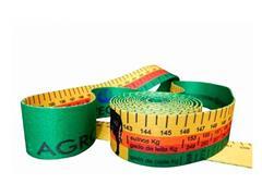 Fita para Medir Peso Animal Agrozootec Bovio e Suíno