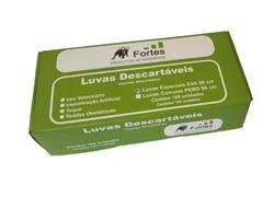 Luva para Inseminação Artificial Fortes Vet Eva Ultrafina 100 Unidades - 1
