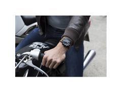 Relógio Wenger RoadSter Chrono Preto Pulseira em Couro - 3