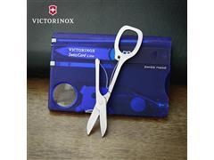 SwissCard Victorinox Lite Translúcido Azul - 3