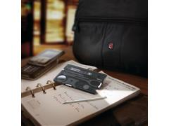 SwissCard Victorinox Lite Translucido Preto - 3