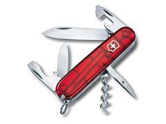 Canivete Victorinox Spartan Translúcido Vermelho