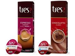 Combo 20 Cápsulas Três Corações Espresso Vibrante e Chocolatto Quente