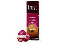 Combo 20 Cápsulas Três Corações Espresso Vibrante e Café com Leite - 1