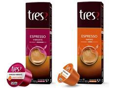 Combo 20 Cápsulas Três Corações Espresso Vibrante e Ameno