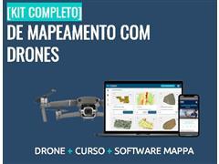 Drone DJI Mavic Air Software MAPPA proc. dados e Análises Agronômica - 2