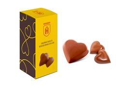 Bombons Havanna Corações de Chocolate e Recheado com Doce de Leite - 0