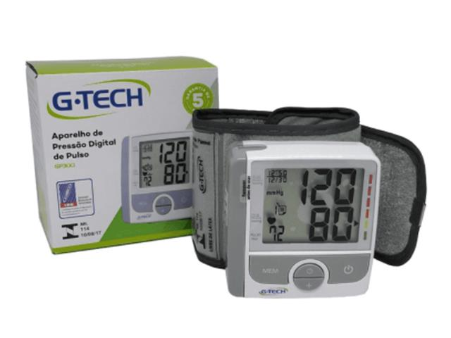 Medidor de Pressão de Pulso G-Tech Home com Selo