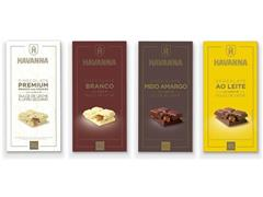 Combo Havanna Mix de Barras de Chocolate com 12 Unidades