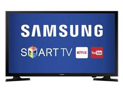 "Smart TV LED 32"" Samsung HTDV Conversor TV Digital 2 HDMI 1 USB Wi-Fi"