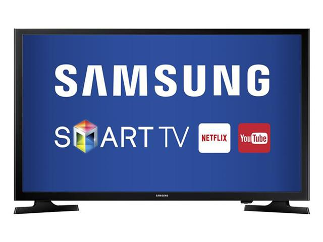 "Smart TV LED 43"" Samsung Full HD Conversor TV Digial 2 HDMI 1 USB WiFi"