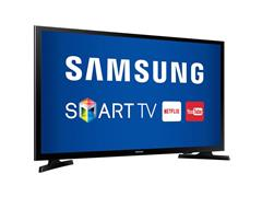 "Smart TV LED 43"" Samsung Full HD Conversor TV Digial 2 HDMI 1 USB WiFi - 1"