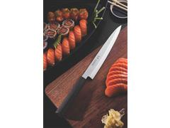 "Faca Yanagiba Tramontina Sushi Lâmina em Aço Inox e Cabo de Nylon 9"" - 3"