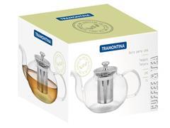 Bule para Chá Tramontina em Vidro e Aço Inox com Infusor 1 Litro - 4