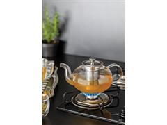 Bule para Chá Tramontina em Vidro e Aço Inox com Infusor 1 Litro - 2