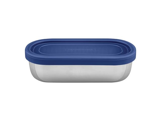 Marmita para Alimentos Tramontina Freezinox Aço Inox Azul 400ML